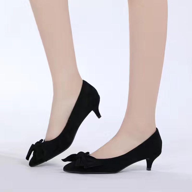 black-suede-kitten-heels