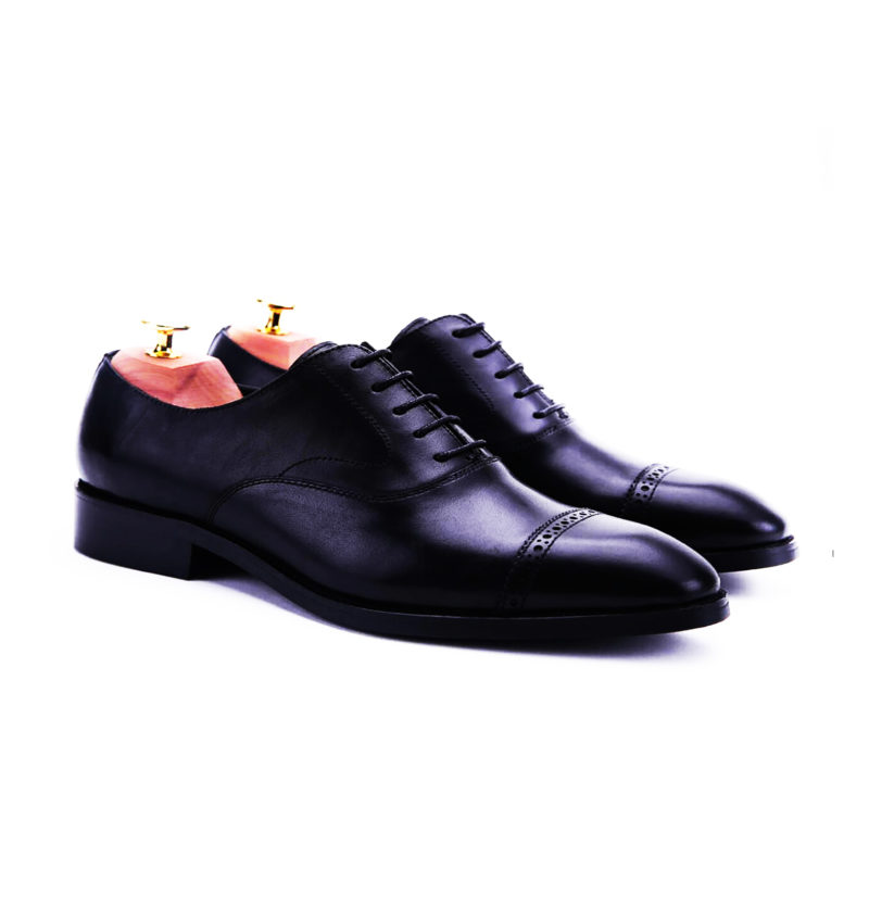 black-oxford-cap-toe-brogues-leather-men-shoe-1