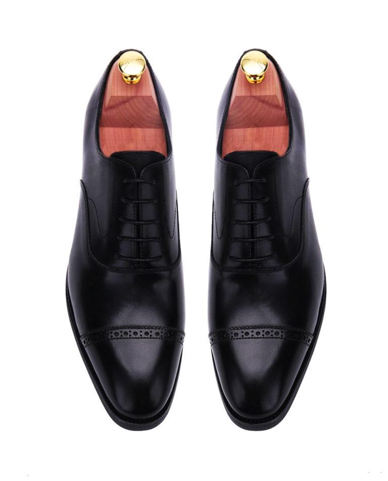 black-oxford-cap-toe-brogues-leather-men-shoe-2