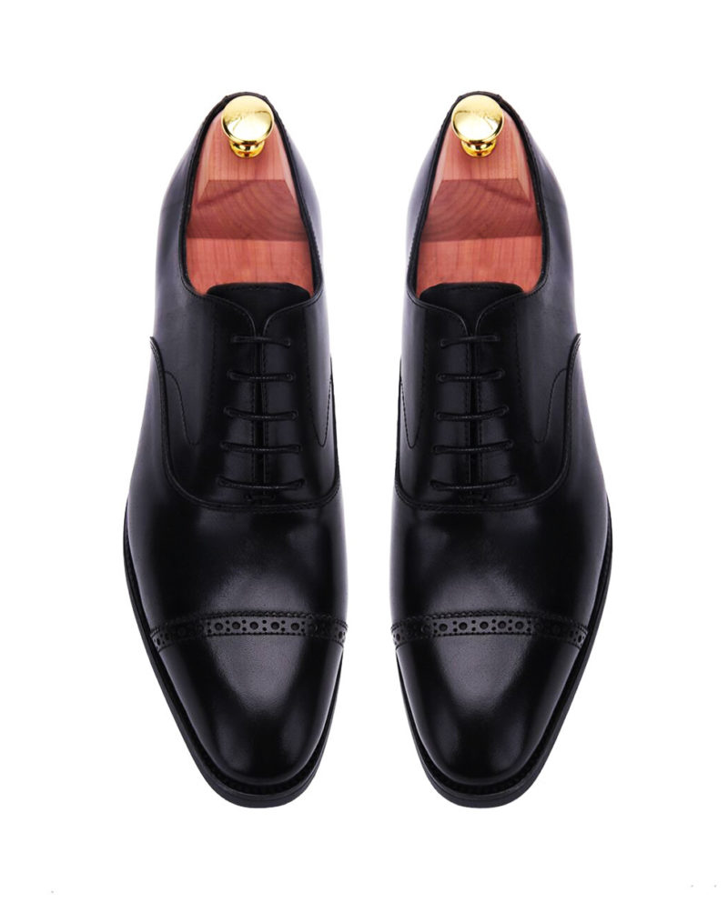 black-oxford-cap-toe-brogues-leather-men-shoe-2