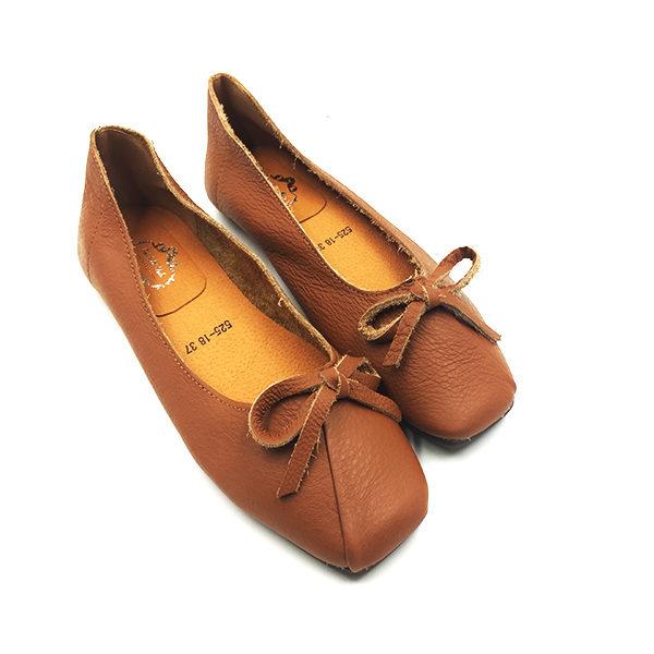 brown-leather-ribbon-flat-1