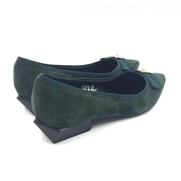 green-suede-block-heels-flat-2