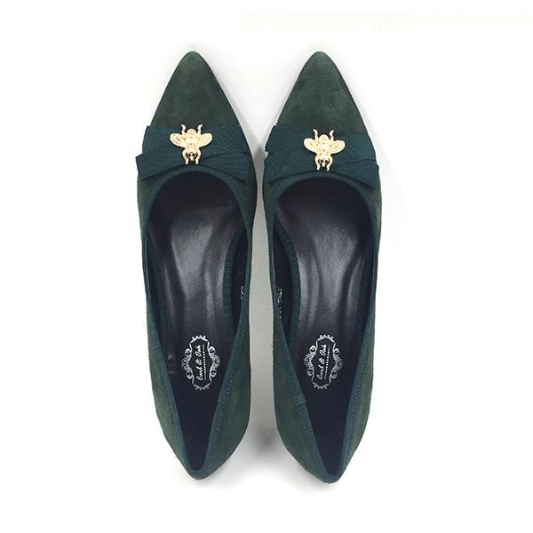 green-suede-block-heels-flat-3