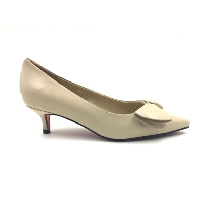 Nude Kitten Bow Pump